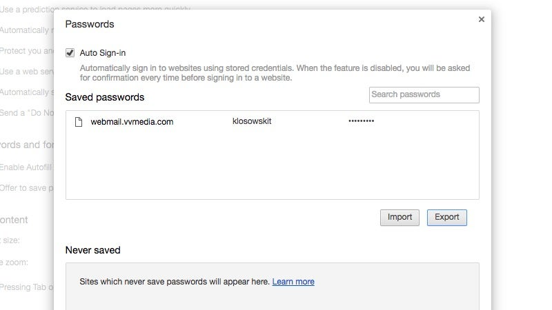Chrome Has An Option To Export Passwords, Here's How To Enable It