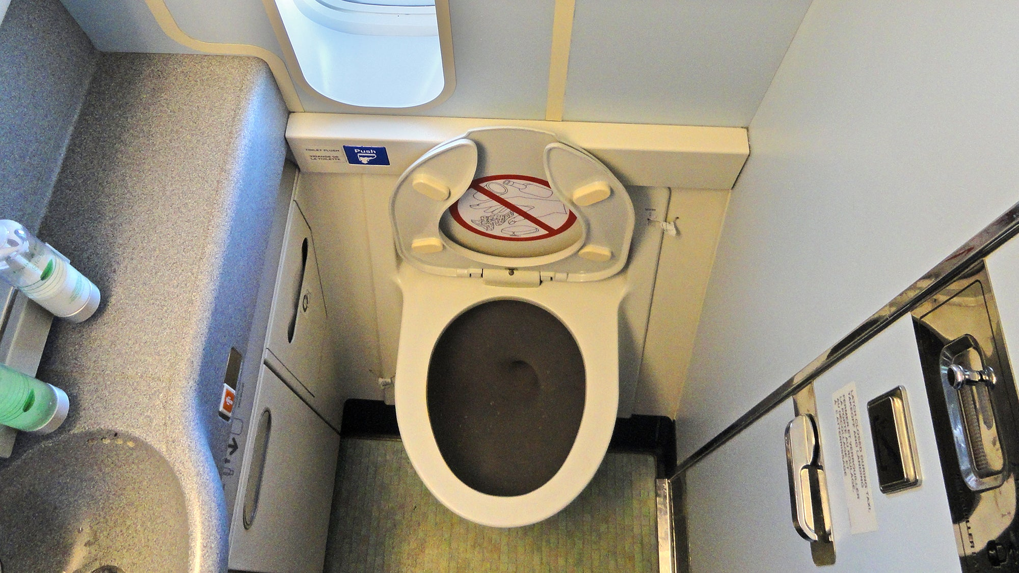 A New Design Promises To Quiet The Terrifying Roar Of Flushing An Aeroplane Toilet
