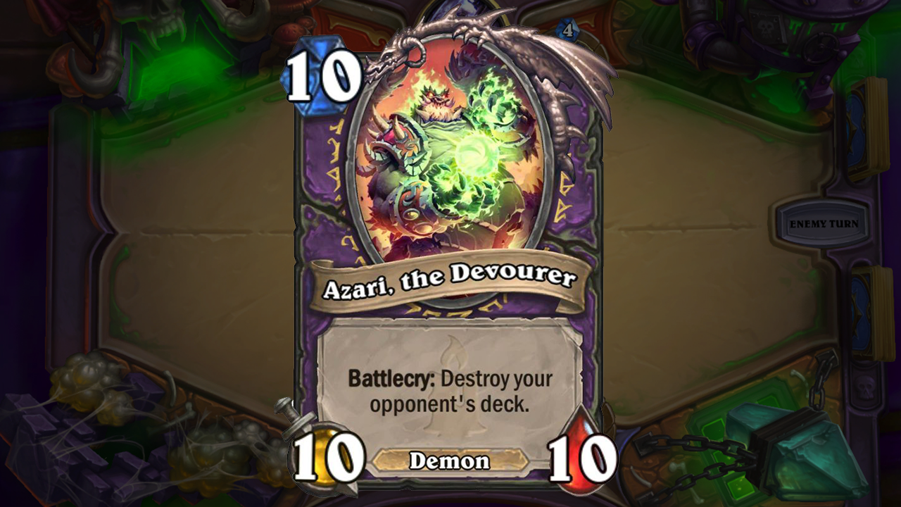 A Look At Some Of The Upcoming Hearthstone Expansion's Wilder Cards