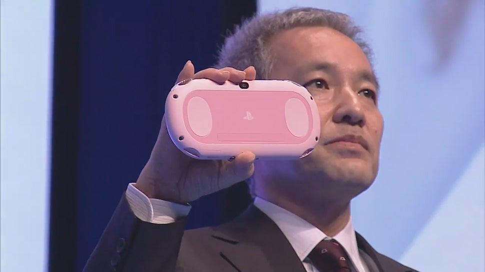 Japan Getting a Light Pink PS Vita