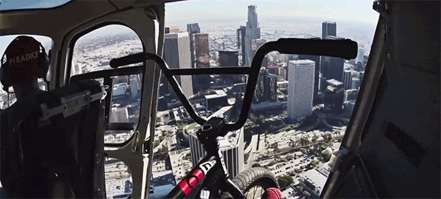 Awesome Bike Ride Teleports You All Around Los Angeles