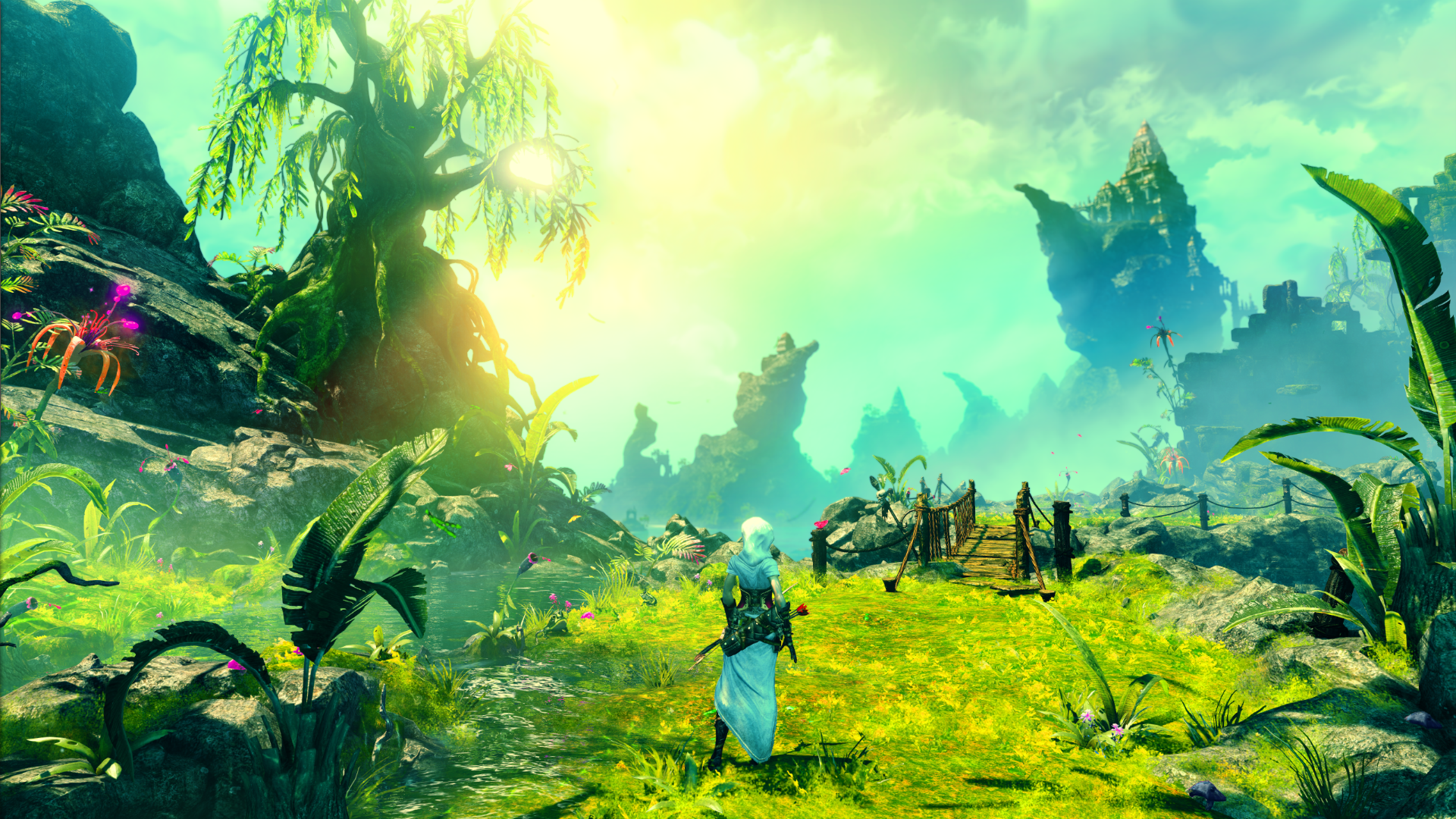 Our First Look at the Next Trine