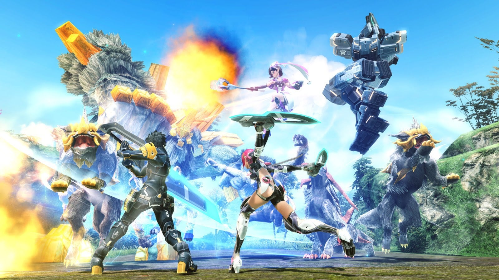 Phantasy Star Online 2 Shows Its Age, But It's Still Great