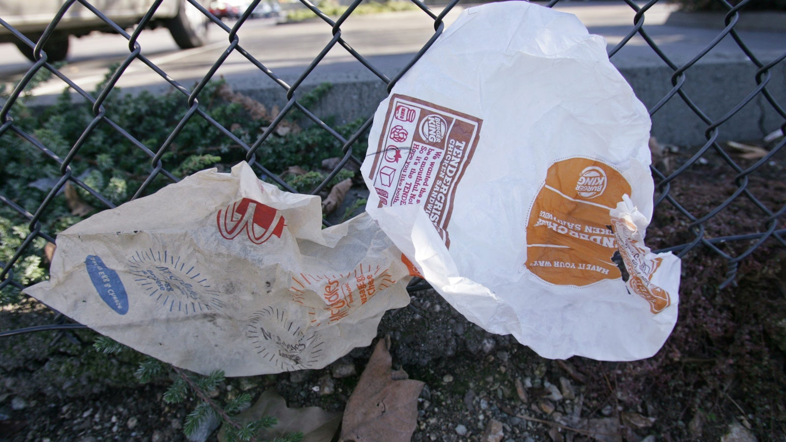 Even Your Fast Food's Wrapper Is Bad For You