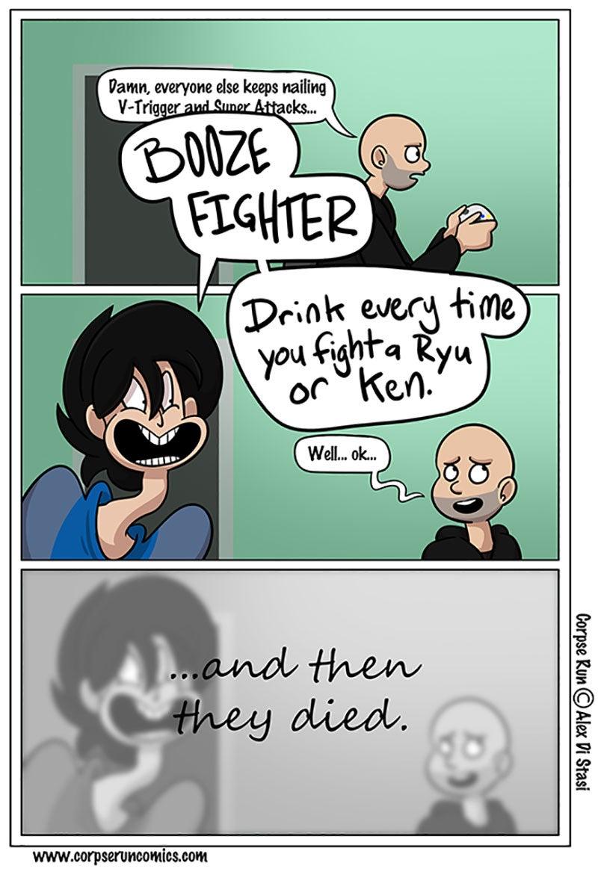 Sunday Comics: Booze Fighter