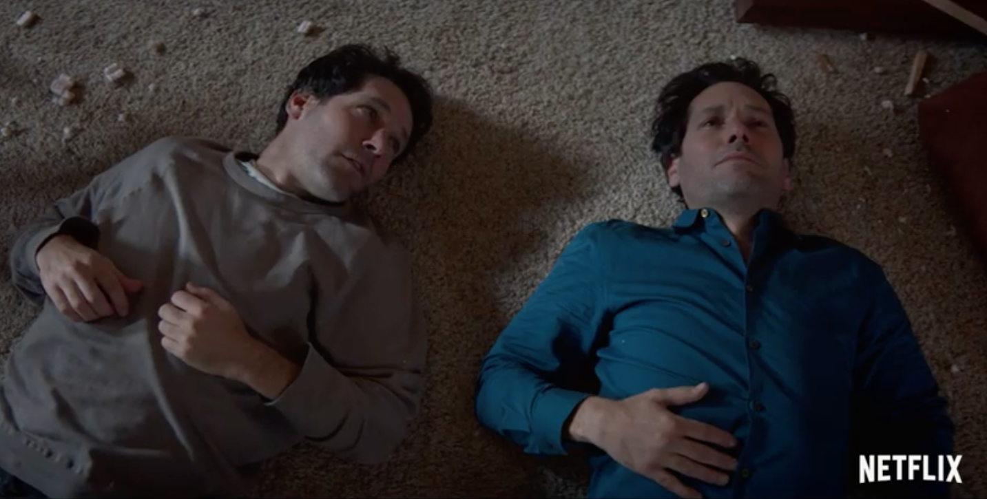Paul Rudd Plots To Murder Paul Rudd In The First Trailer For Netflix Series Living With Yourself