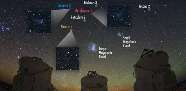 We Have New Neighbours: Dwarf Galaxies Found Orbiting The Milky Way