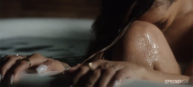 Musicless Rihanna music video is just creepily watching her take a bath