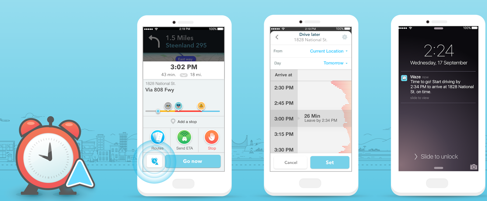 Waze Now Tells You the Best Time to Drive, Days Ahead of Time