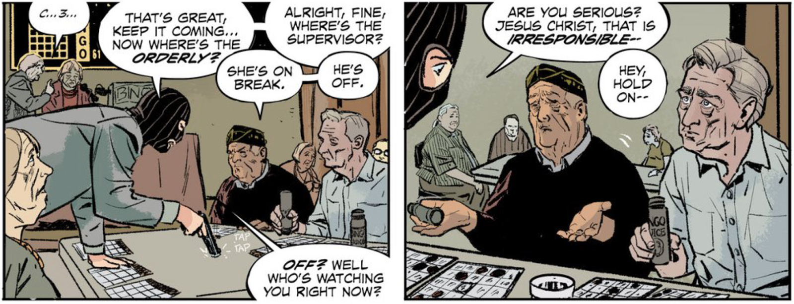The Fix Is A Comic Book About The World's Worst Criminals