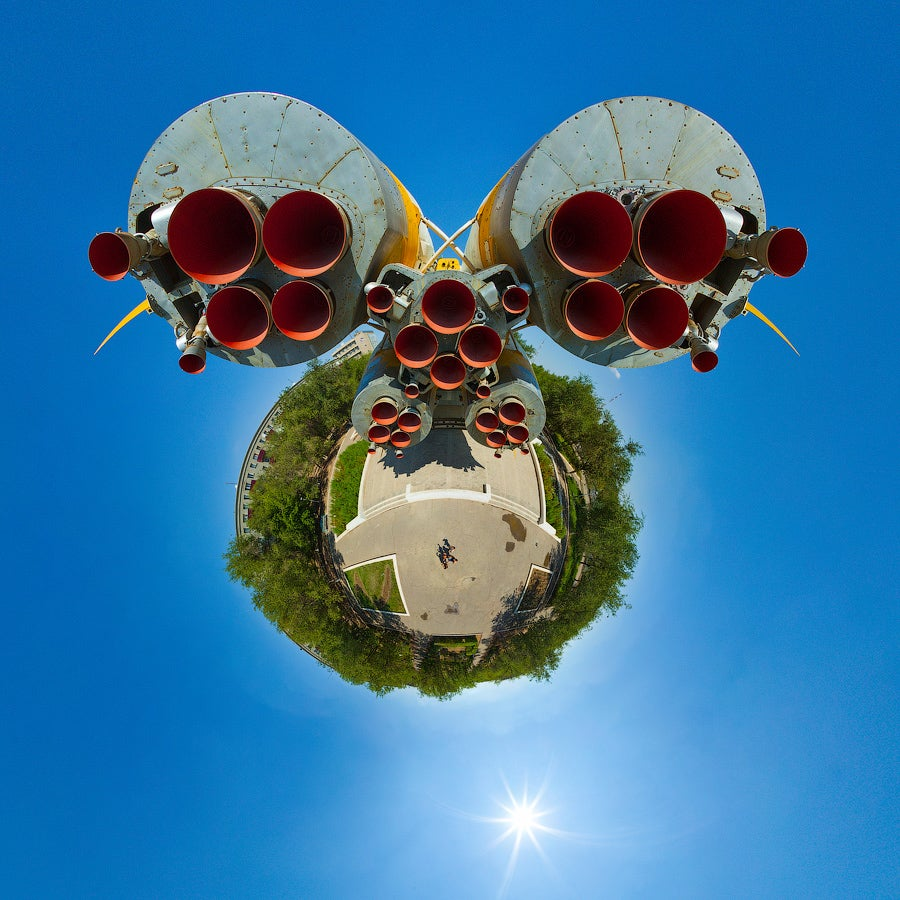 Each of These Panoramic Pictures Is Its Own Tiny Twisted Planet