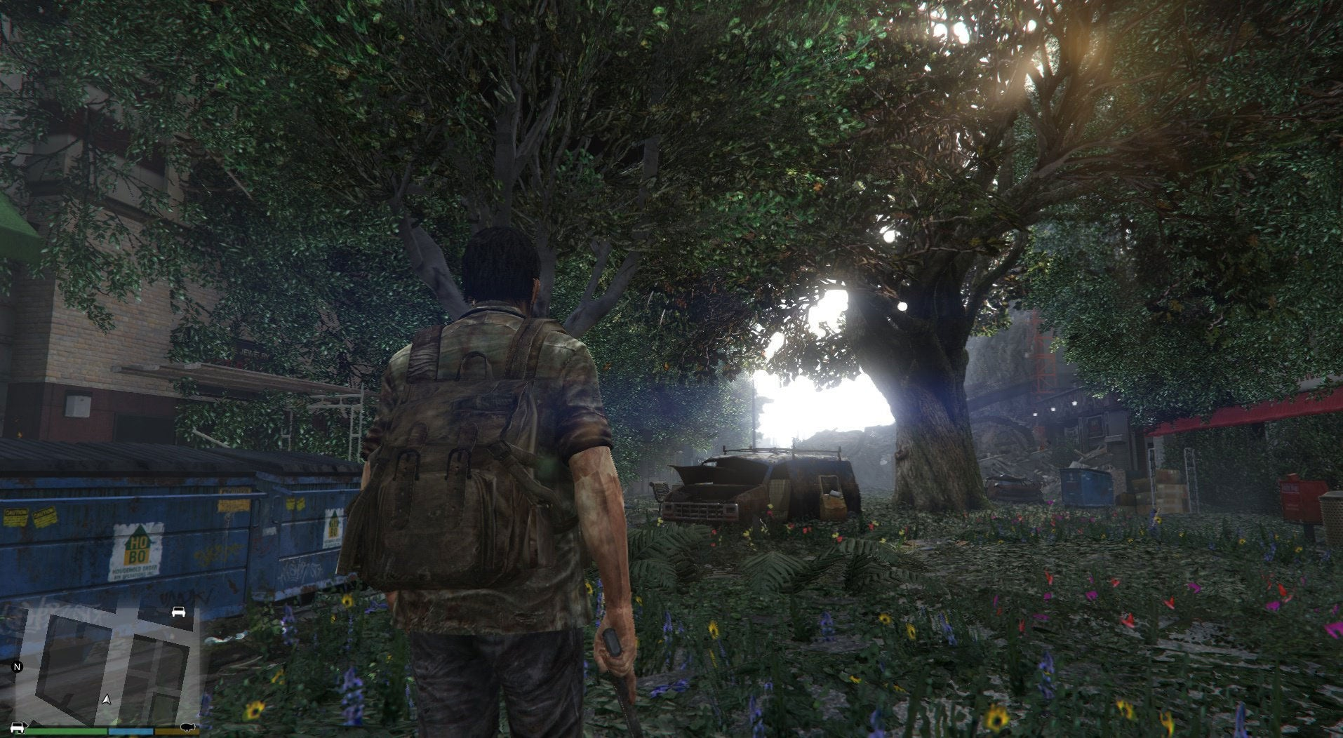 Mods Turn GTA V's Map Into Something Out Of The Last Of Us