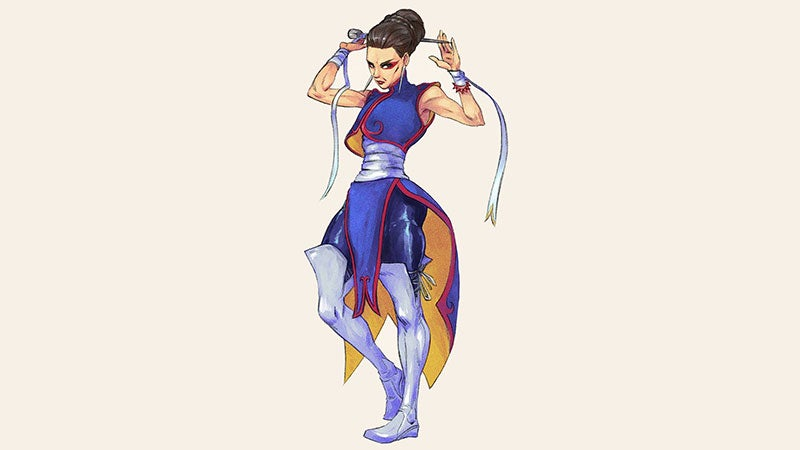 Chun-Li Is 52 Years Old
