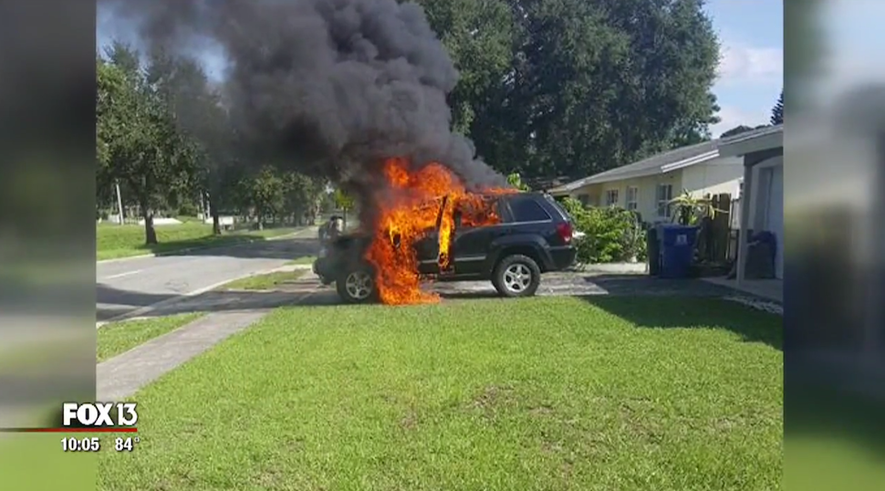 Florida Man Says His Galaxy Note 7 Exploded and Set His Jeep on Fire