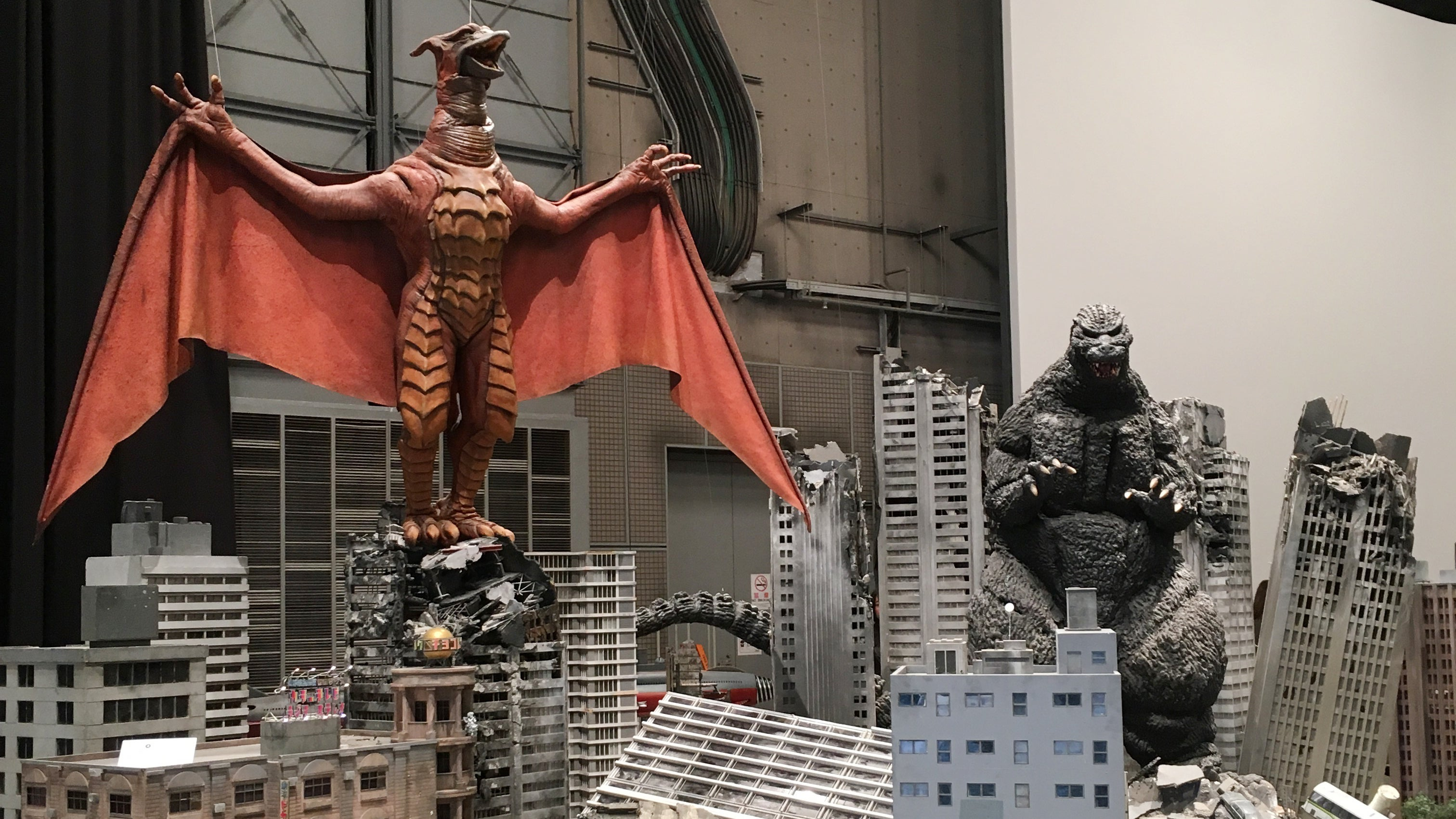 A Trip To Godzilla's Home, Toho, Made Us Want To Stomp Through Its Amazing Sets