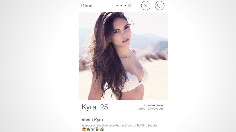 Fake Tinder Profile