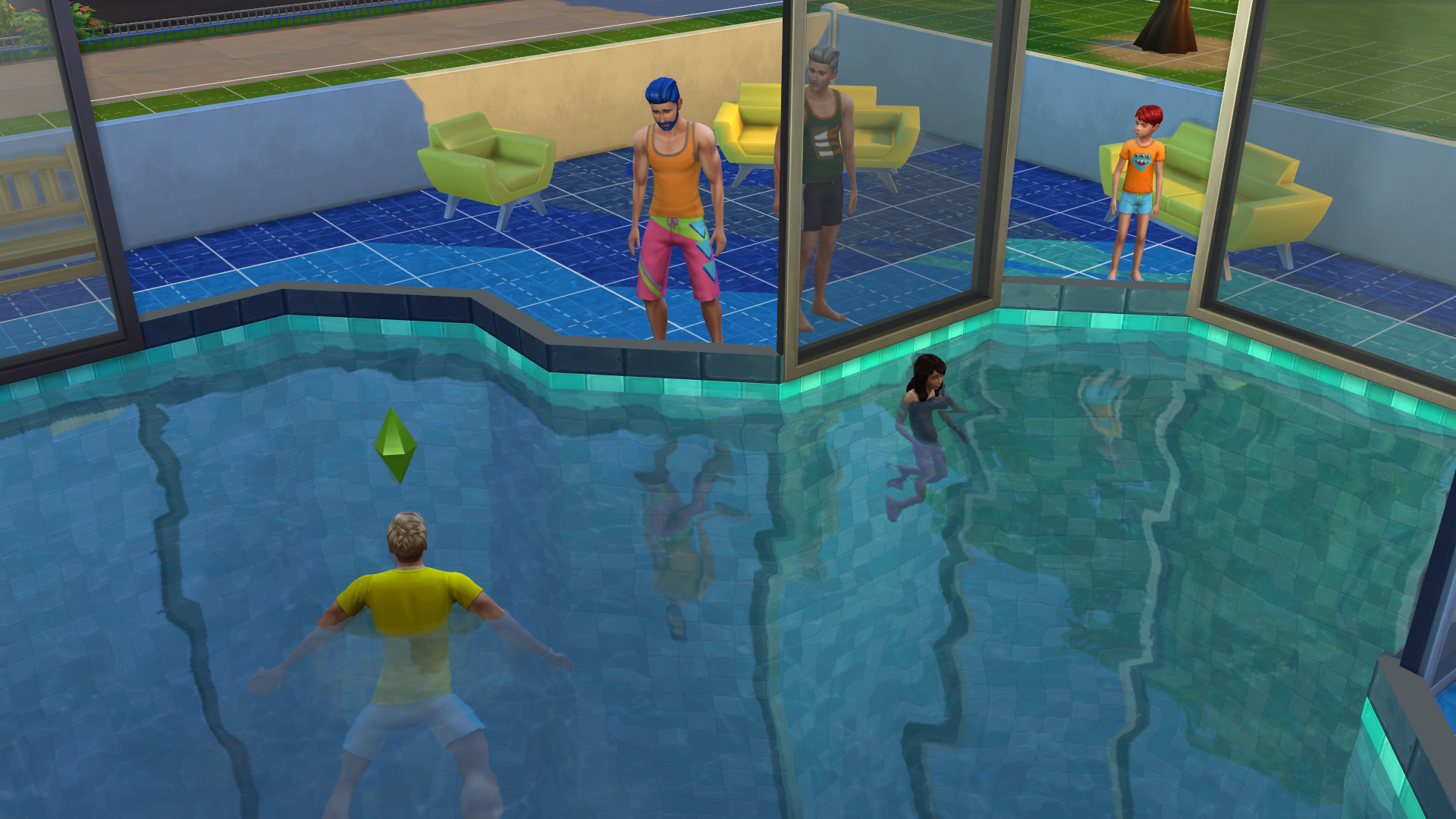 It Only Took Me An Hour To Drown My Sims In Their New Pool