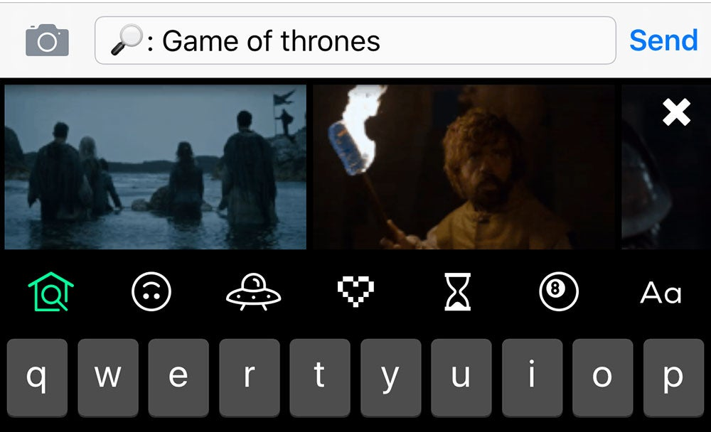 Giphy Keys Is the iPhone Keyboard For GIF Fanatics