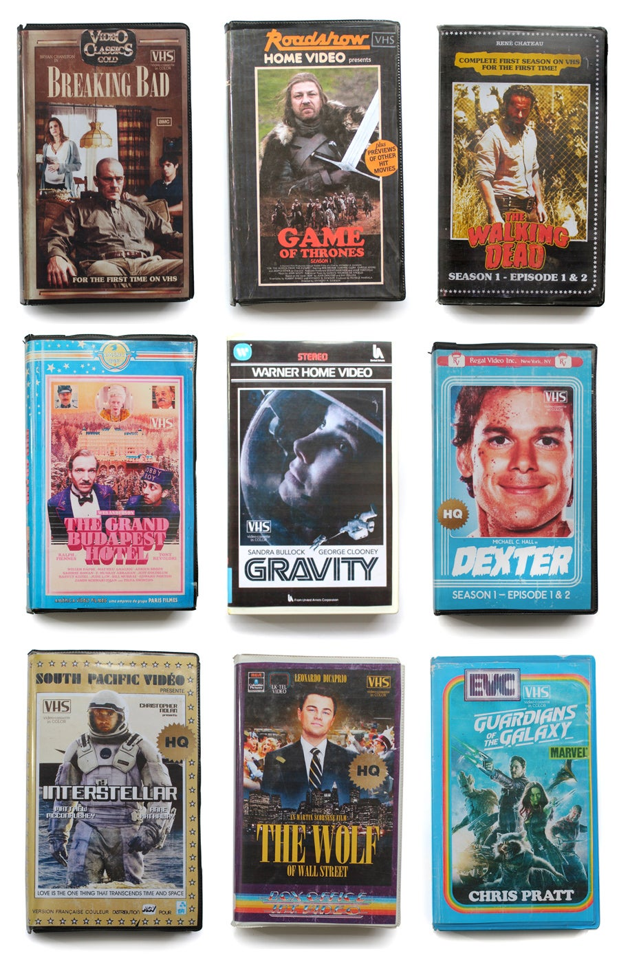 A Dude Made Fake VHS Covers for New Shows And They're So Good
