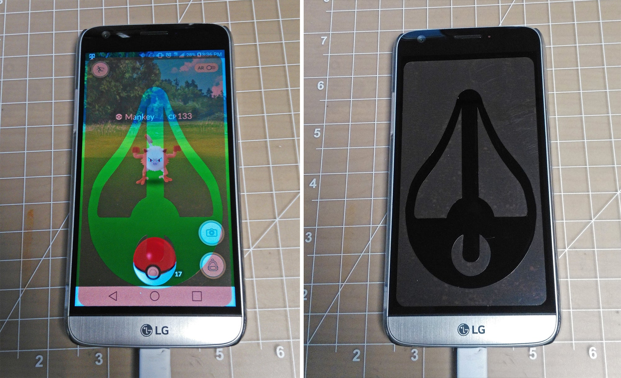 Finger-Guiding Invisible Screen Protector Is The Best Way To Cheat At Pokemon GO