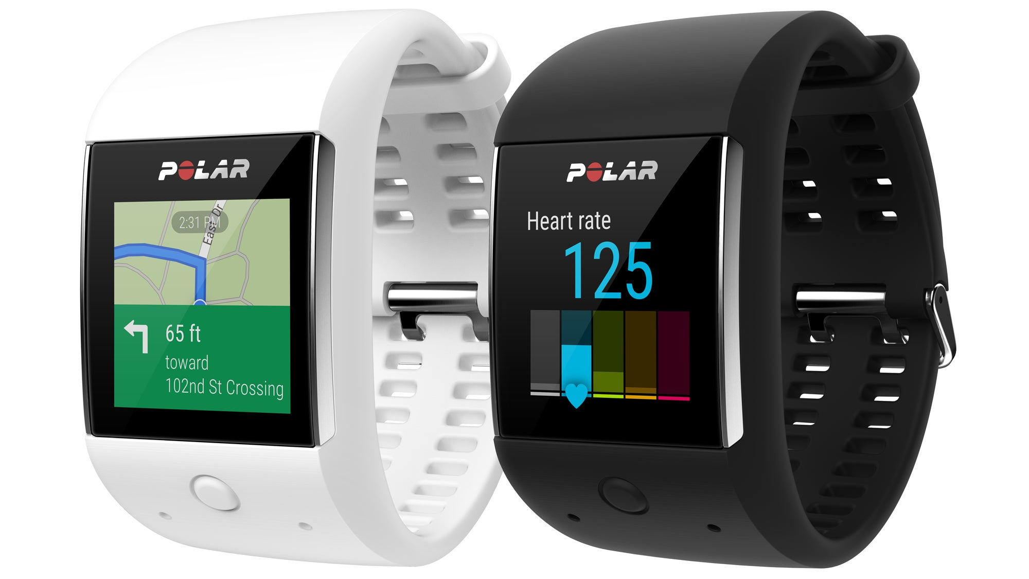 Polar pairs Android Wear with fitness tracking for the M600 sports watch