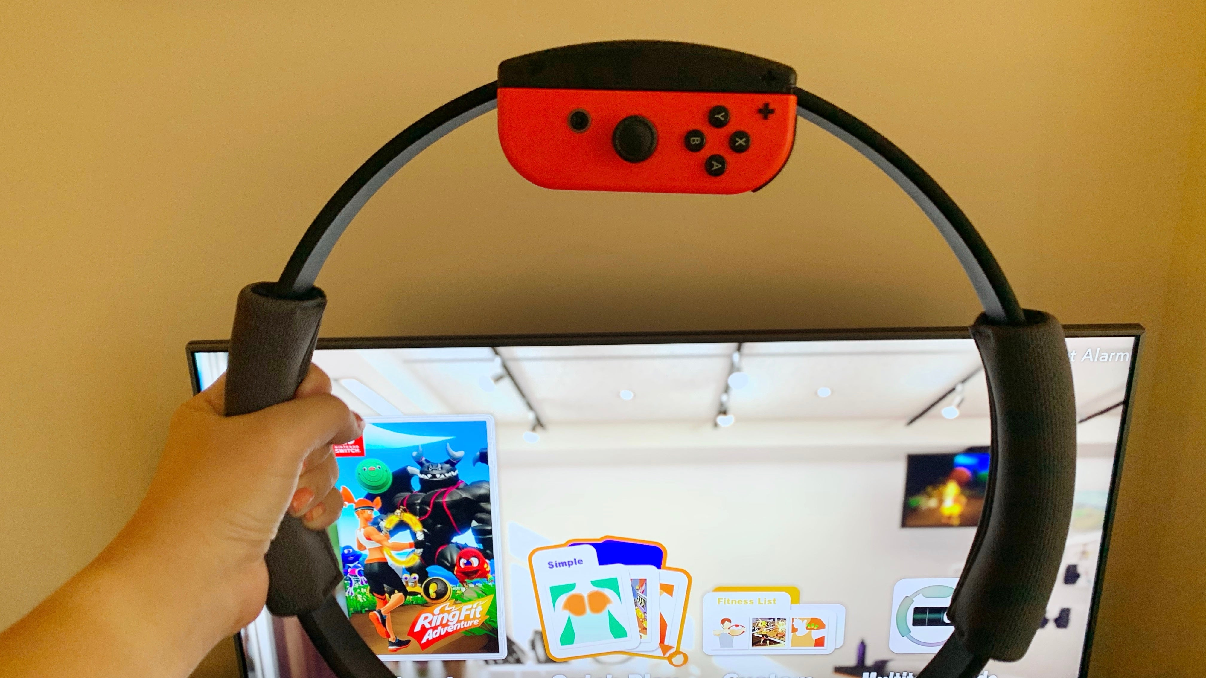 Nintendo's Ring Fit Adventure Tricked Me Into Liking Squats But The Calorie-Burn Was Lacking