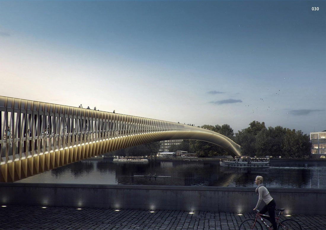 The Craziest Submissions For London's Newest Pedestrian Bridge