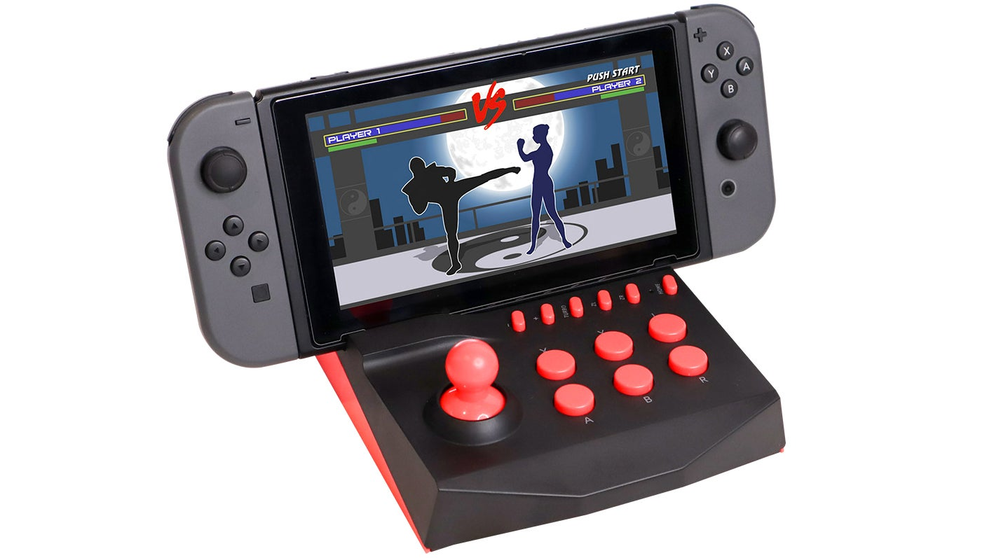 Turn Your Nintendo Switch Into A Miniature Arcade Optimised For Fighting Games