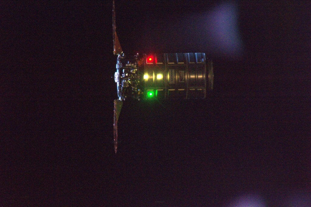 Cygnus Is the Cutest of the Space Station Cargo Craft