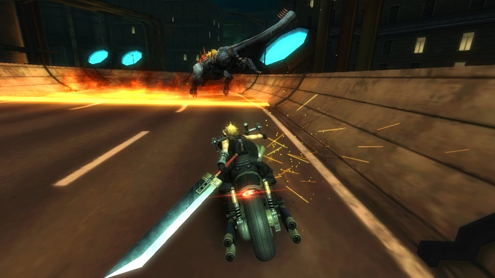 Final Fantasy VII Bike Game Could Pave the Path to a Full Remake