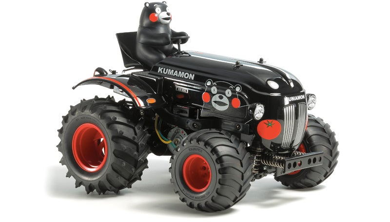 Somehow This Tiny RC Tractor Looks Incredibly Fun To Play With