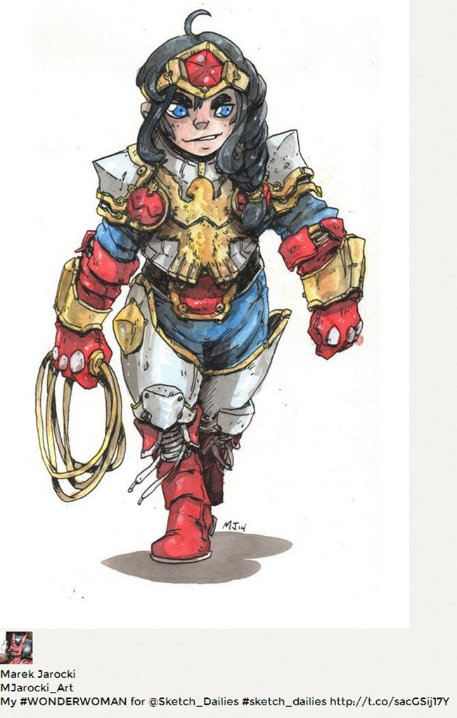 11 Very Cool Takes On Wonder Woman