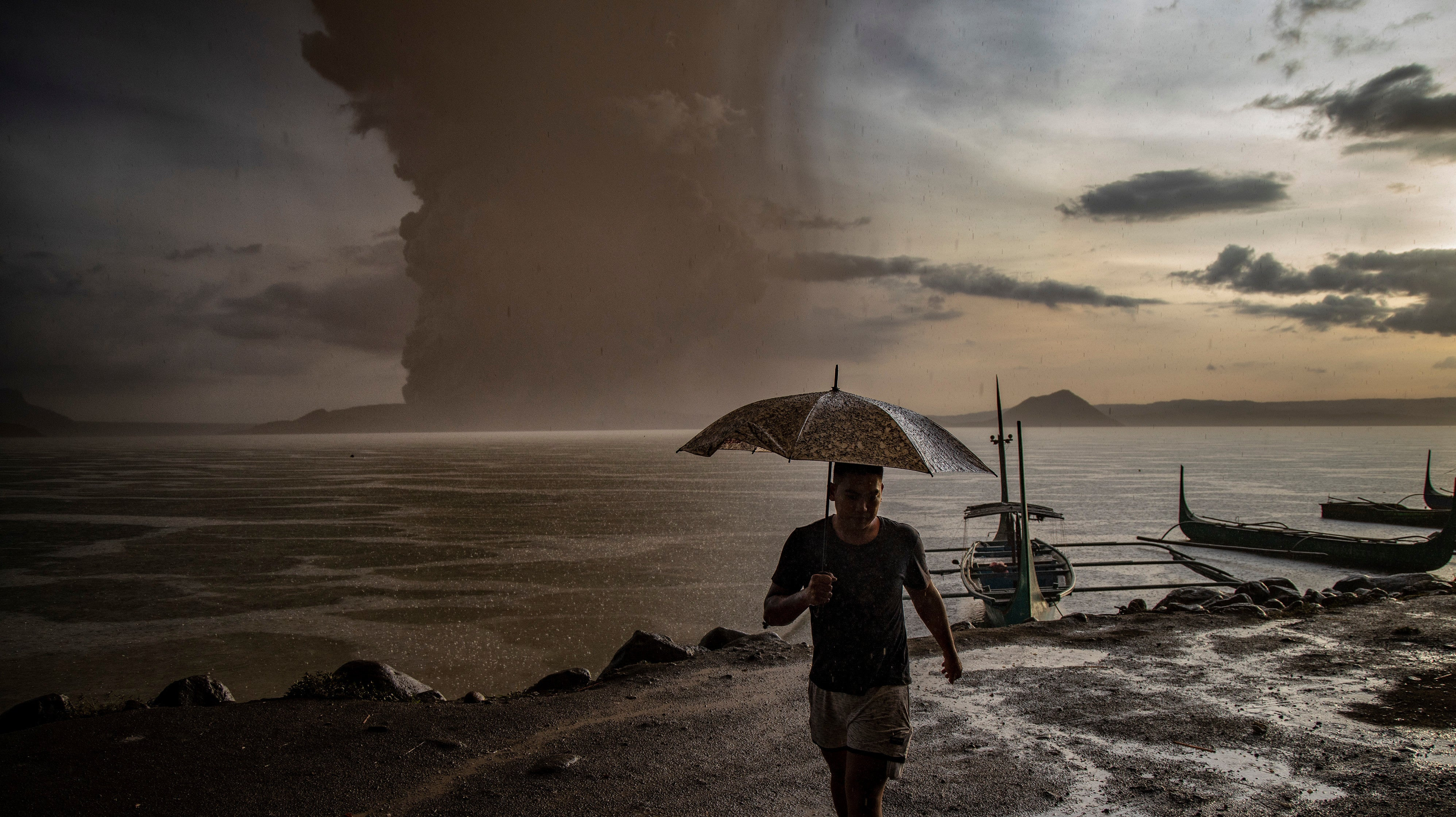 Why The Taal Eruption Won't Slow Down Climate Change