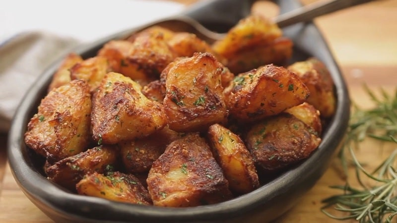 Make Crispier Roasted Potatoes By Roughing Them Up First