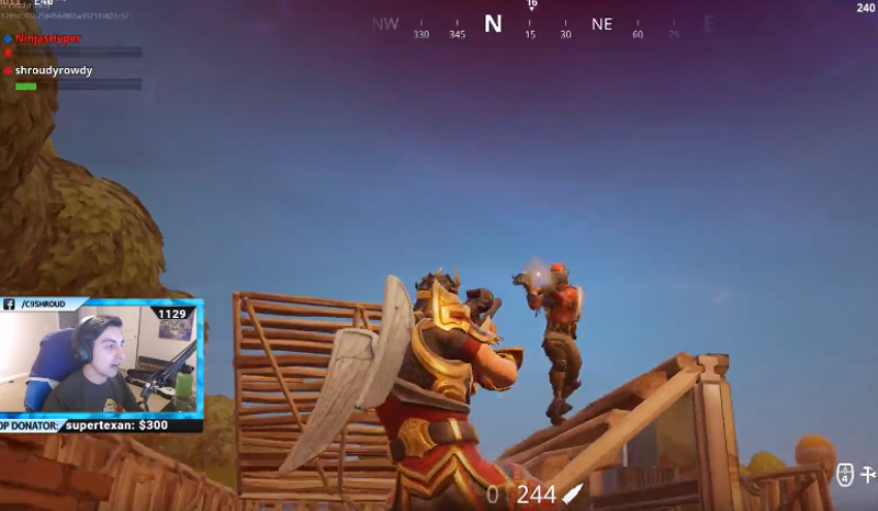 Fortnite Streamer Goes For Glory, Faceplants, Wins Anyway