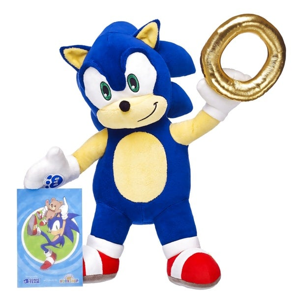 Build A Bear Sonic Ring
