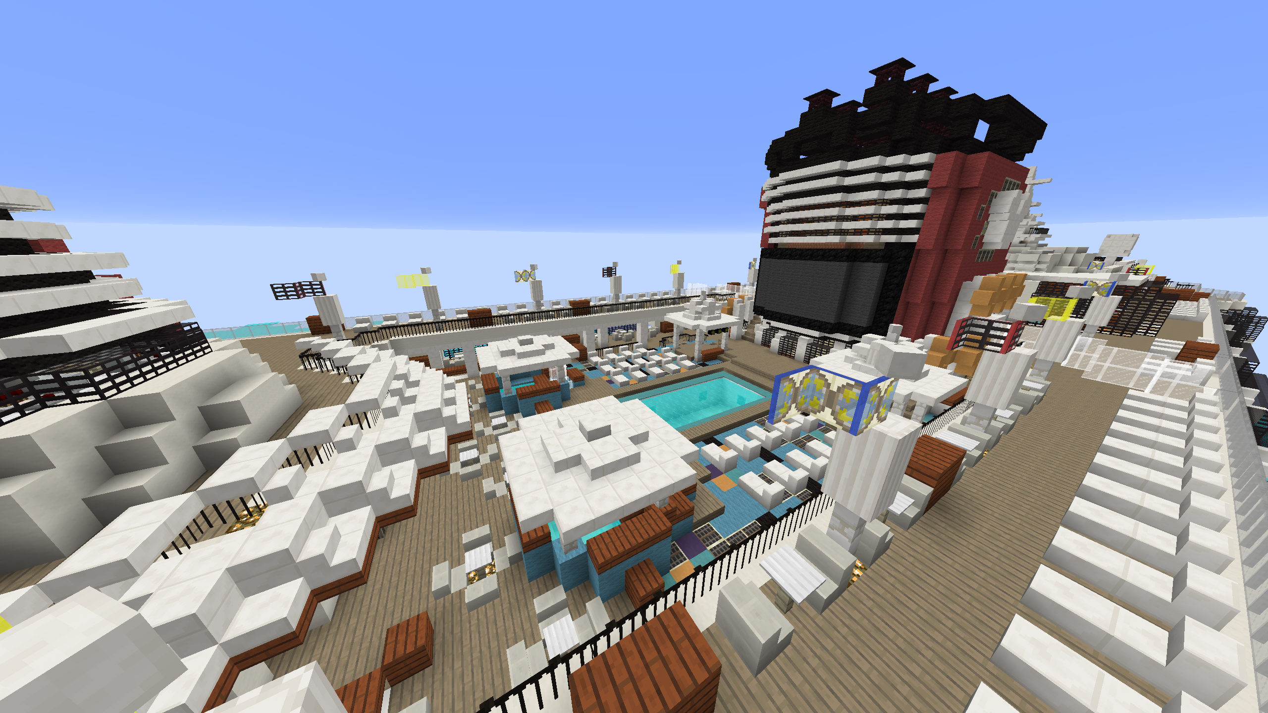 Minecrafter Builds Extremely Detailed Replica of Disney Cruise Ship