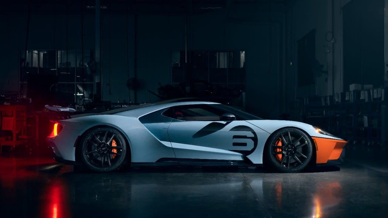 The Upgraded 2020 Ford GT Has The Only Gulf Livery Throwback That I Don't Hate