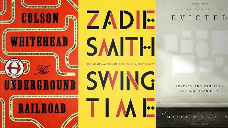 The 20 Best Books Of 2016, According To 36 'Best Of' Lists