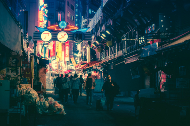 Tokyo Looks Animated in These Amazing Photos