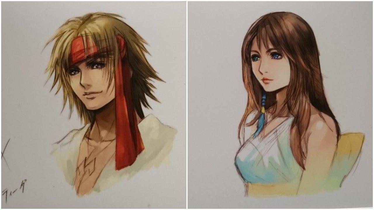 A Good Look At Official Post-Final Fantasy X-2 Character Art