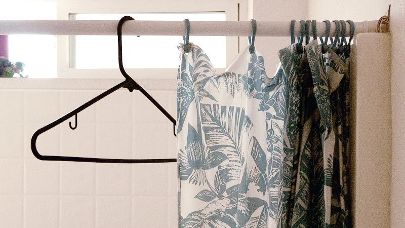 Hang Your Guests' Coats Over The Tub