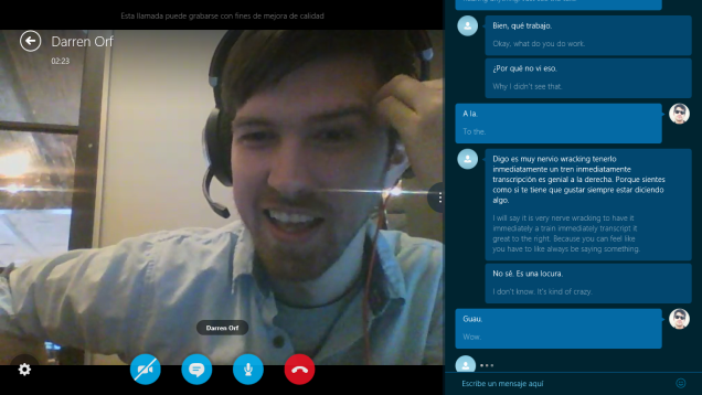 Skype Translator Likes to Swear in Chinese