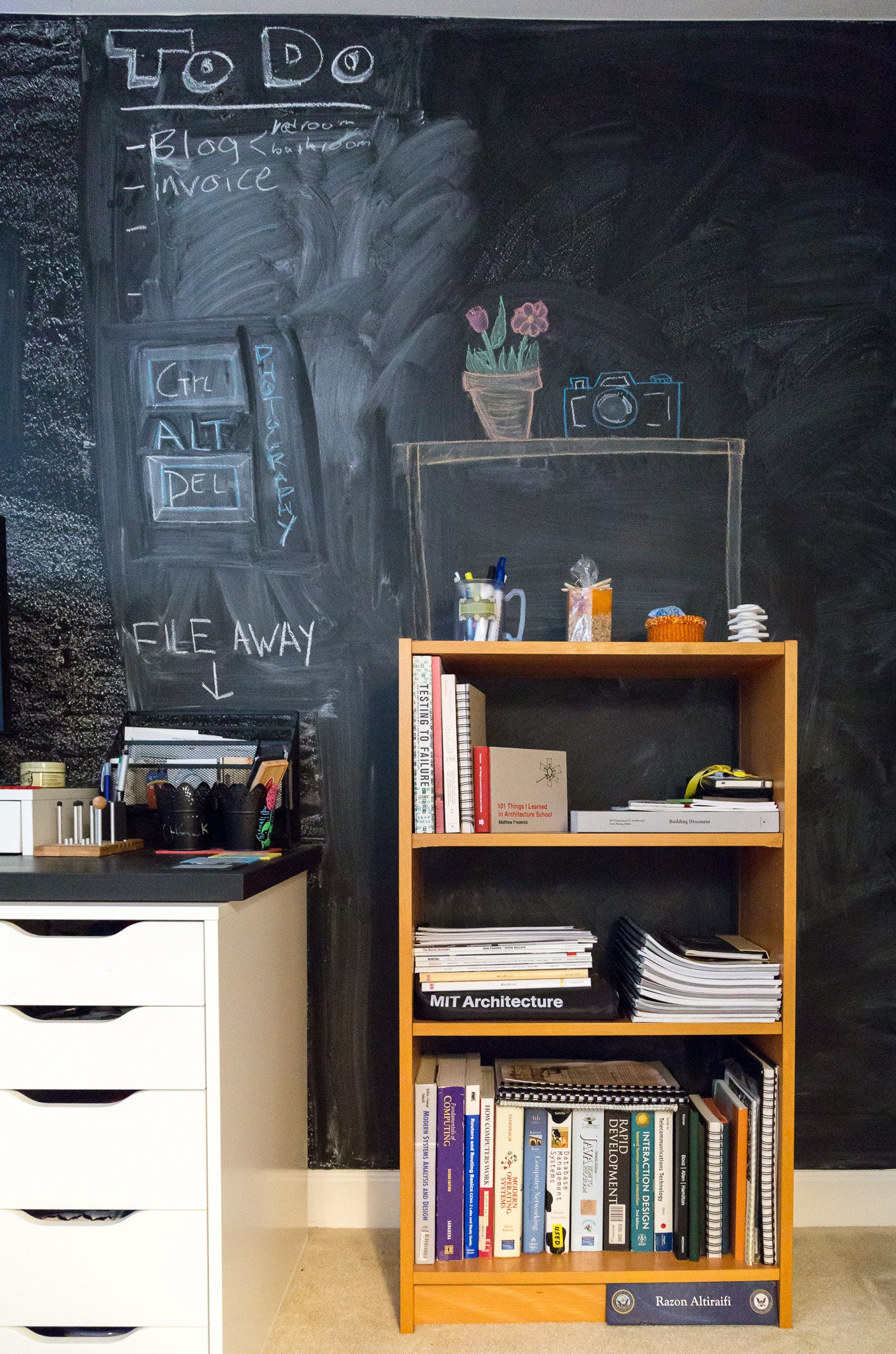 The Chalkboard Wall Workspace
