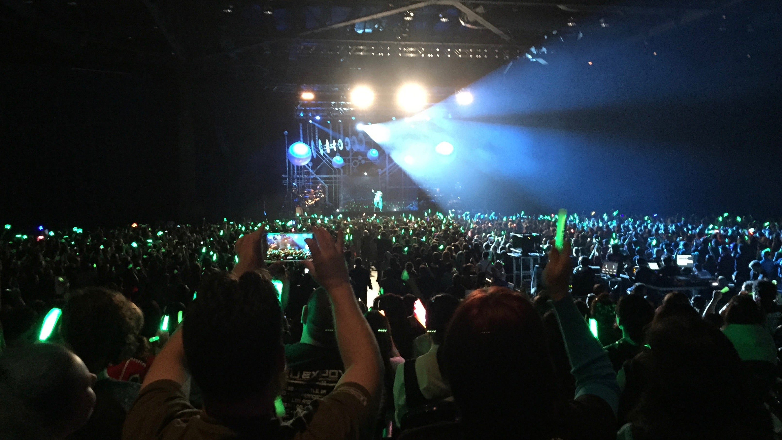 The Crowd Went Wild For Hatsune Miku, The Virtual Anime Pop Star