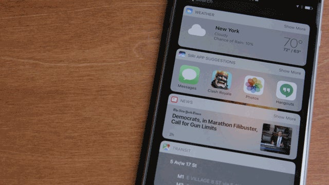 IOS 10's Coolest New Features in Gifs