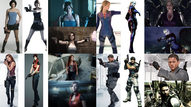 How the Resident Evil Movie Actors Compare to the Game Characters