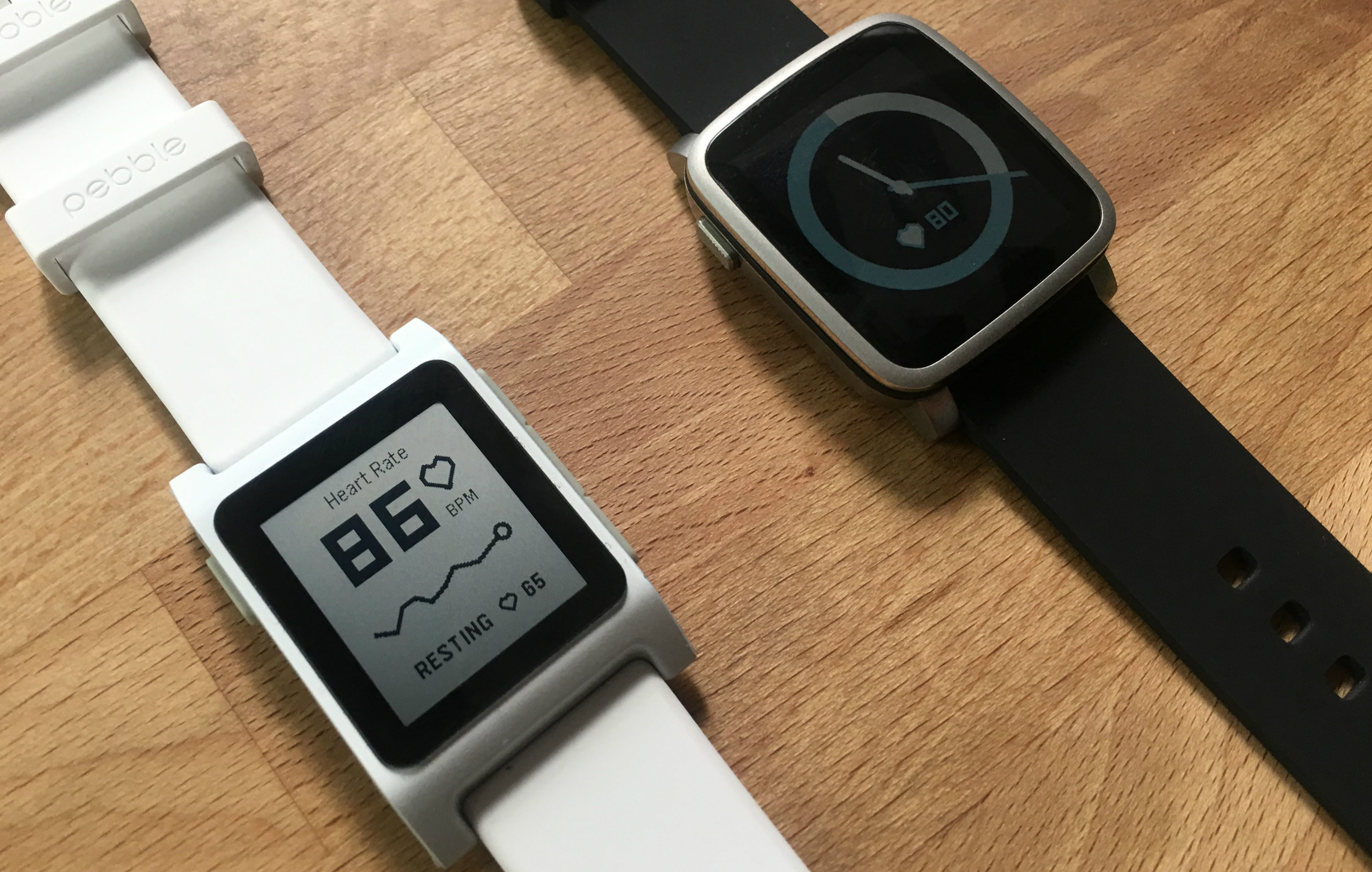 Pebble's New Smartwatches Have a Fitness-Focused Obsession