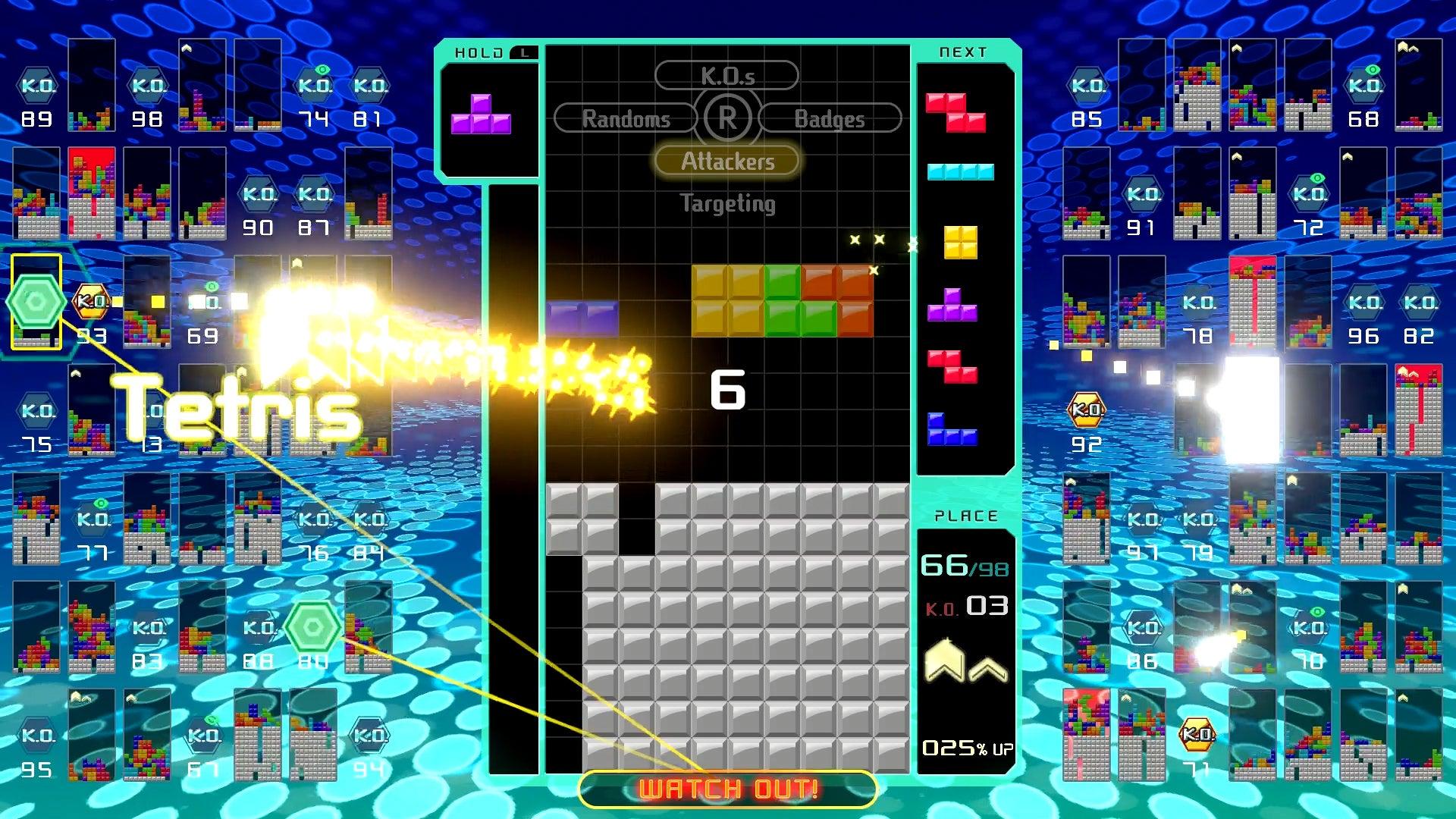 Tetris 99: The Kotaku Review