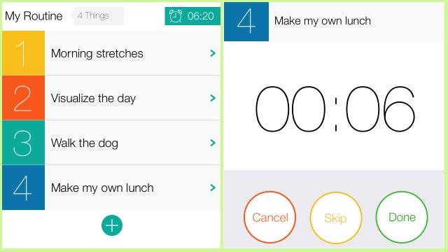 HabitClock Helps You Build Productive Morning Habits
